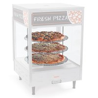 Nemco 67097 Three Tier 12 inch Diameter Rack System for 6450 Pizza and Hot Food Merchandiser