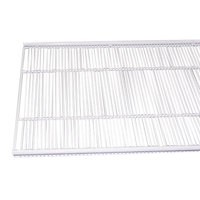 True 909083 White Coated Narrow Gap Wire Shelf with Shelf Clips - 44 inch x 16 3/4 inch