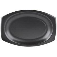 Dart 9PRBQR Quiet Classic 9 inch Black Laminated Foam Platter - 500/Case