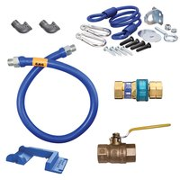 36 inch Dormont 16125KIT SnapFast Gas Appliance Connector Kit with Safety-Set Kit - 1 1/4 inch Diameter
