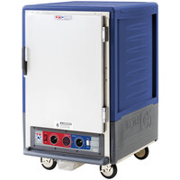 Metro C535-CFS-L-BU C5 3 Series Heated Holding and Proofing Cabinet with Solid Door - Blue