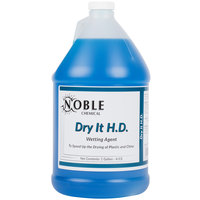 Noble Chemical 1 Gallon Dry It HD Premium Rinse Aid / Drying Agent - Ecolab&#174&#x3b; 12864 Alternative - 4/Case