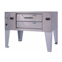 Bakers Pride GS-805 Super Deck Natural Gas Single Deck Pizza Oven - 60,000 BTU
