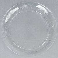 WNA Comet DWP75180C 7 1/2 inch Clear Plastic Designerware Plate - 18/Pack