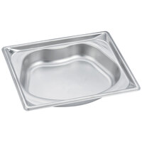 Vollrath 3102020 Super Pan Super Shape Half Size Kidney Pan