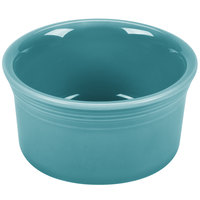 Homer Laughlin 568107 Fiesta Turquoise 8 oz. Ramekin - 6/Case