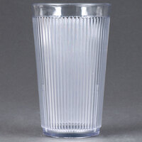 Carlisle 401207 Clear Crystalon SAN Tumbler 12 oz. - 12 / Pack