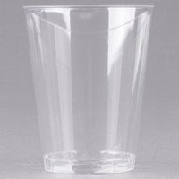 Fineline Savvi Serve 408 8 oz. Tall Clear Hard Plastic Tumbler - 500/Case
