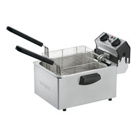 Waring WDF75B 8.5 lb. Commercial Countertop Deep Fryer - 208V