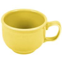 Homer Laughlin 149320 Fiesta Sunflower 18 oz. Jumbo Cup - 12 / Case