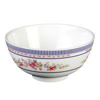 Rose 9 oz. Round Melamine Rice Bowl - 12/Case
