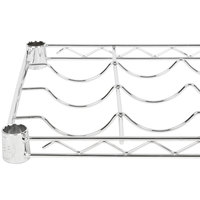 Regency 14 inch x 36 inch Wire Wine Shelf - 8 Bottle Capacity