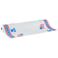 40 inch x 300' Table Cover with Patriotic Pattern