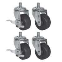 Beverage Air 61C01-011A 3 inch Replacement Casters - 4 / Set