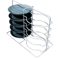 Metro MBQ-P2-14 Open Plate Carrier / Rack for Two Door Banquet Cabinets Holds 8 Plates