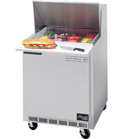 Beverage Air SPE27C-A 27 inch Refrigerated Salad / Sandwich Prep Table with Cutting Top
