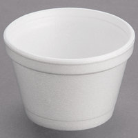 Dart Solo 3.5J6 3.5 oz. Customizable White Foam Food Bowl - 1000/Case
