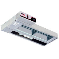 APW Wyott FDL-66L-T 66 inch Lighted Calrod Food Warmer with Toggle Controls - 1400 Watt