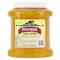 Fox's Pineapple Ice Cream Topping   - 6/Case