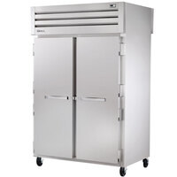 True STR2RPT-2S-2S-HC Specification Series 52 5/8 inch Solid Door Pass-Through Refrigerator