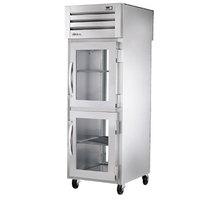 True STR1RPT-2HG-1G-HC Specification Series 27 1/2 inch Half Glass Front, Glass Back Door Pass-Through Refrigerator