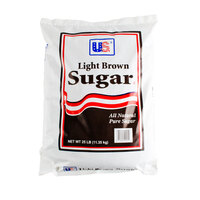 Light Brown Sugar - 25 lb.