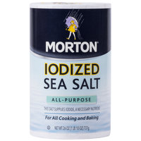 Morton 26 oz. All-Purpose Iodized Sea Salt   - 12/Case