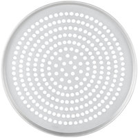 American Metalcraft T2018SP 18 inch Super Perforated Pizza Pan - Tin Plated Steel