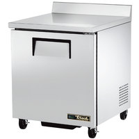 True TWT-27F-ADA-HC 27 inch Single Door ADA Compliant Worktop Freezer