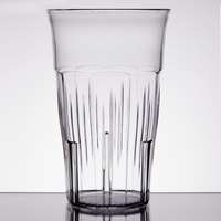 Carlisle 4365307 Lorraine 16 oz. Clear SAN Plastic Tumbler - 12/Case