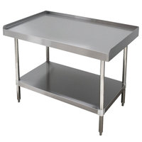 Advance Tabco ES-LS-302 30 inch x 24 inch Stainless Steel Equipment Stand