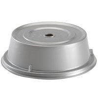 Cambro 1005CW486 Camwear 10 9/16 inch Silver Metallic Camcover Plate Cover - 12/Case