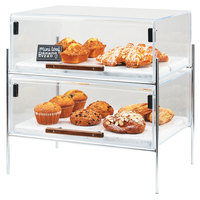 Cal-Mil 3706-1813-49 Mid-Century 19 1/2 inch x 13 1/2 inch x 18 inch Pastry Case with Chrome Frame
