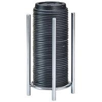 Cal-Mil 3716-49 Chrome Lid / Cup Organizer - 5 inch x 8 1/2 inch