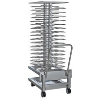 Alto-Shaam 5016490 Roll-In Stainless Steel Plate Cart - 51 Plate