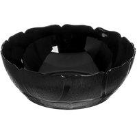 Carlisle 691403 Petal Mist 5.7 Qt. Black Polycarbonate Bowl