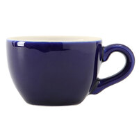 Tuxton B2F-0301 Duratux 3 oz. Cobalt China Cappuccino Cup - 36/Case