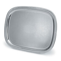 Vollrath 82121 Elegant Reflections Stainless Steel Oblong Serving Tray - 24 inch x 19 inch
