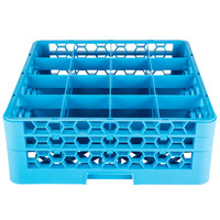 Carlisle RG16-214 OptiClean 16 Compartment Glass Rack with 2 Extenders