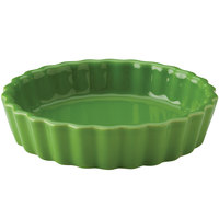 Hall China 30864324 Shamrock 8 oz. Colorations Round Fluted Souffle / Creme Brulee Dish - 24/Case