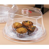 Cal Mil 302-12 Turn N Serve Colonial Sample / Pastry Tray Cover 12 inch