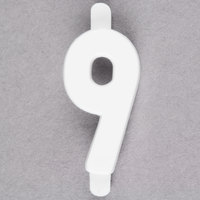 3/4 inch Flexible Moulded Deli Tag Insert Number 9