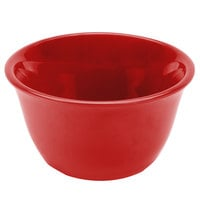 Smooth Melamine Pure Red Bouillon Cup - 12/Pack