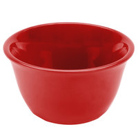 Smooth Melamine Pure Red 7 oz. Bouillon Cup   - 12/Case