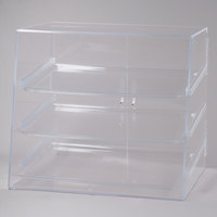 Cal-Mil 288 Large Bakery Display Case with Double Front Doors - 27 inch x 23 inch x 28 inch