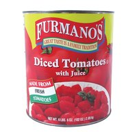 Furmano's Diced Tomatoes with Juice 6 - #10 Cans / Case