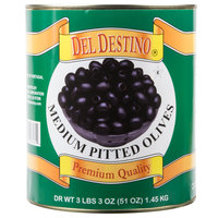 Medium Pitted Black Olives - #10 Can