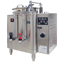 Grindmaster 7413E Single Midline 3 Gallon Fresh Water Coffee Urn - 120/208/240V 1 Phase