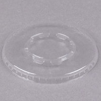 WNA Comet LCD58C Clear Flat Lid for 5 and 8 oz. Dessert Container - 1000/Case