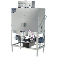 CMA Dishmachines S-B Tall Double Rack Low Temperature, Chemical Sanitizing Straight Dishwasher - 115V